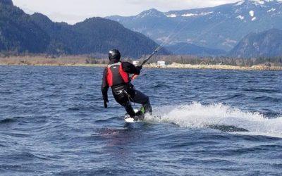 Aerial Kiteboarding – Squamish